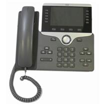 "Cisco CP-8851-K9 5-Line Key 5"" Color VoIP PoE Gigabit Phone Aux USB Bluetooth"