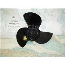 "Boaters Resale Shop of TX 1708 2075.55 YAMAHA 3 BLADE 14RH11 PROP FOR 1"" SHAFT"