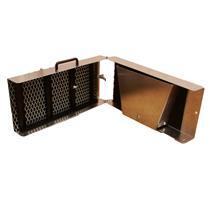 "42"" Long Folding Sluice Box-Positive Locking System - Gold Mining - 7 Riffles"