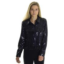 10 NWT Joseph Ribkoff Purple Shiny Scales Swirl Zip Front Collared Jacket/Top