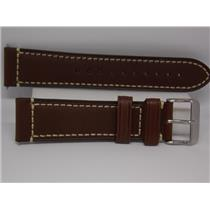 Swiss Army Watch Band 004446 Brown Leather 22mm Strap/Watchband. Air Boss Mech.