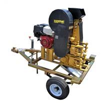 "Keene Engineering RC46DRT Gas Rock Crusher on a Trailer 4""x6"" Jaw Crusher"