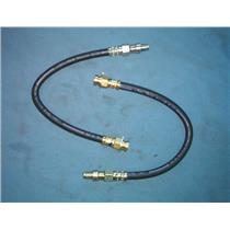 Brake hose set BMW & Volvo front brake Front ( 2 hoses ) 1969-1993 Made in USA