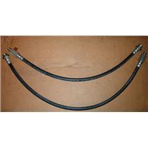 Brake hose Cadillac Eldorado Olds Toronado 1966-1969 FRONT 2 hoses Made in USA