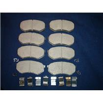Mitsubishi Fuso FE Brake pads with hardware Model FE639 1995-2004