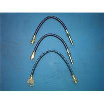 Brake hose Buick Chevrolet Oldsmobile - front & rear all 3 hoses 1969-1973 USA