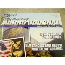 ICMJ's Prospecting & Mining Journal Magazine November 2017,  GOLD!!