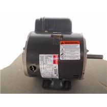 Dayton 3/4 HP Belt Drive Motor, Capacitor-Start, 1725 RPM,115-230/V, 1Ph 6K376BF