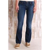 28 Citizens of Humanity Dita Petite Bootcut Medium Wash Stretch Low-Rise Jeans