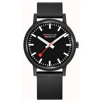Mondaine Watch MS1.41120.RB Essence.Swiss Made.Swiss Railways Style.Rubber Strap