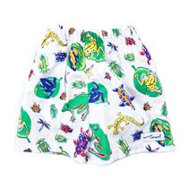 6m (S 15-20lbs) NWT Flap Happy Boys Creepy Crawlers Swim Trunk Shorts w/Diaper