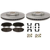 Brake Pad Rotor kit Fits Nissan Pathfinder 1996-1998 includes pads hardware