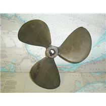 """Boaters Resale Shop of TX 1712 1141.05 NI-BRAL 3 BLADE 14LH14 PROP FOR 1"""" SHAFT"""