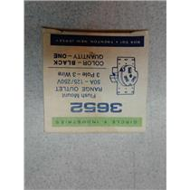Circle F Industires 3652 Power Outlet Receptacle 3P 3W