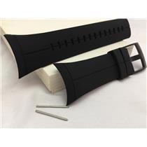 Suunto Watch Band For Model Spartan Ultra Black. Original Black Silicone Strap