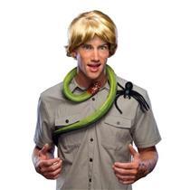 Animal Hunter Steve Irwin Messy Blonde Adult Halloween Wig