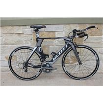 2011 Scott Plasma Premium Carbon Tri Bike w/ Dura Ace - 54cm/Medium