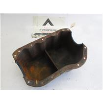 MG Austin Healey America engine oil pan