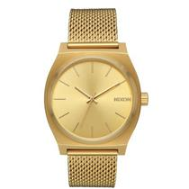 Nixon Women's TIME TELLER MILANESE Minimal Watch Gold
