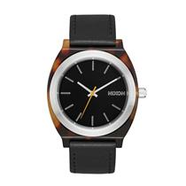 Nixon Women's Time Teller Acetate 40mm A327-2699-00TORTOISE / SILVER / BLACK