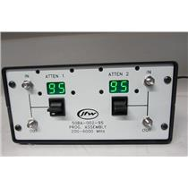 JFW 50BA-002-95 Mini Benchtop Prog. Attenuator Assembly, no power cable(ref: db)