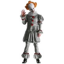 Grand Heritage IT the Movie Version Pennywise Clown Adult Costume with Mask STD