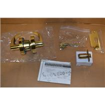 Yale AU4601LN x 605 Door Lever Lockset, Right Angle, Bronze Color