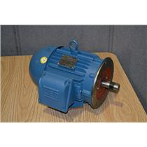 Weg W22 5HP Electric Motor 3Ph 208-230/460V 1755 RPM 182/4TC, 00518ET3E184TC-W22