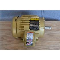 Baldor Reliance 1Hp Super E Motor, 3Ph, 208-230/460V, 3500 RPM, 143T Frame