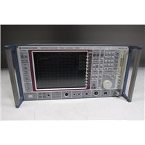 Rohde & Schwarz FSEM Spectrum Analyzer, 20Hz-26.5GHz,1080.1505.20, opt B15