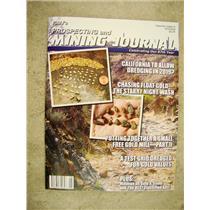 ICMJ's Prospecting & Mining Journal Magazine June 2018,  GOLD!!
