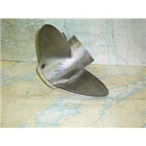 "Boaters Resale Shop of TX 1707 1244.02 MECURY 3 BLADE 15.8RH19 PROP - 1"" SHAFT"