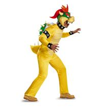 Super Mario Brothers: Bowser Mens Adult Costume XXL 50-52
