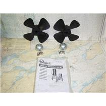 Boaters Resale Shop of TX 1806 0447.47 QUICK P195 PAIR OF BOW THRUSTER PROPS