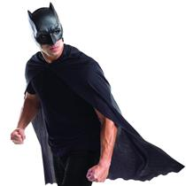 DC Comics Dawn of Justice Batman Cape and Mask Costume Kit