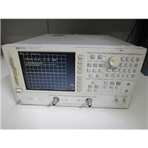 Agilent HP 8753E Network Analyzer, 30 kHz to 3 GHz w/ Opt 075