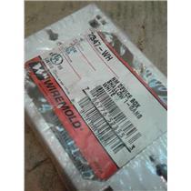 Wiremold 2347-WH  Raceway Fitting 1-Gang Device Box Pvc White
