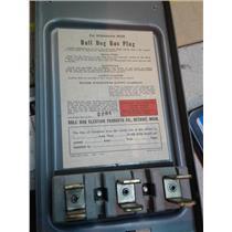 Bulldog Electric BSJ-3237 100A 230Ac 3Wire Bus Plug