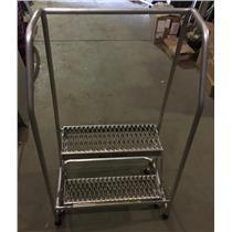 Tri Arc 2-Step Rolling Ladder