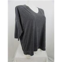 Calvin Klein Performance Size 2X Charcoal Cotton/Polyester V-Neck T-Shirt