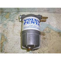 Boaters Resale Shop of TX 1707 0457.04 VOLVO PENTA 41109003 FUEL FILTER/HOLDER