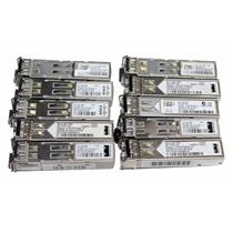 Lot of 10 Cisco GLC-SX-MM Original Genuine 1000Base-SX Fiber SFP Gig Transceiver