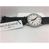 Mondaine Swiss Railways Watch a468.30352.11sbb. Swiss Analog Alarm Movement.