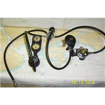 Boaters Resale Shop of TX 1808 2157.11 U.S. DIVERS OCTOPUSS REGULATOR & GAUGES