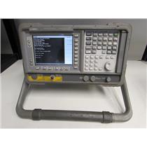 Agilent E4411B ESA-L Spectrum Analyzer 1.5 GHz Opt B72, 1DP, 227, 1AX, 75 Ohm
