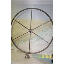"Boaters Resale Shop of TX 1809 1051.01 YACHT SPECIALTIES 44"" STEERING WHEEL"