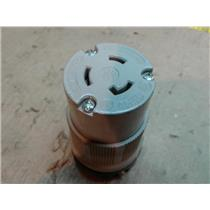 Arrow Hart 6214 Locking Connector Plug Twist Lock NEMA L6-20R 20A 250V