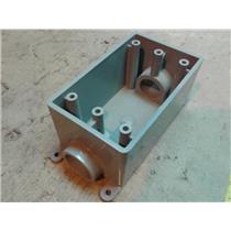 Carlon E981EFN  3/4 IN FSC 1-GANG WATERPROOF BOX