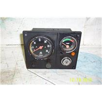Boaters Resale Shop of TX 1901 4101.07 VOLVO PENTA  RPM & TEMP PANEL (NO KEY)