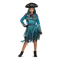 Disney Uma Deluxe Descendants 2 Costume, Teal, Large (10-12)